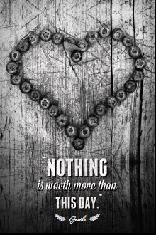 quote nothing is worth more